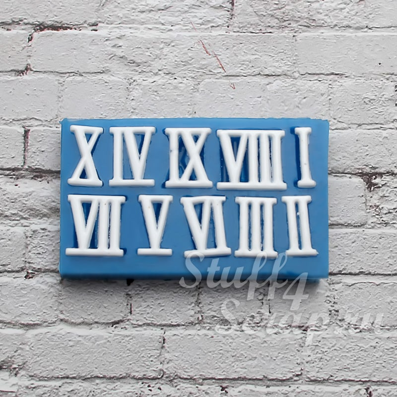Силиконовые формы и молды для скрапбукинга, мастики и мыла цифры. буквы и надписи