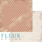 """Лист бумаги """"Упаковка"""", коллекция """"Новогодняя ночь"""", 30х30 см (Fleur design)"""