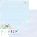 """Лист бумаги """"Сладкий сон"""", коллекция """"Мальчики"""", 30х30 см (Fleur design)"""
