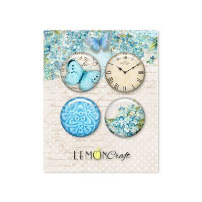 "Фишки коллекции ""Forget me not"" (Lemon Craft), 4 шт."
