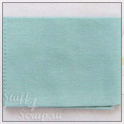 """Отрезок ткани """"Пастель, мятный"""" (Корея),  лен, 45*35 см"""