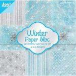 """Набор бумаги """"Зима"""" (Joy), 15х15 см, 9 л."""