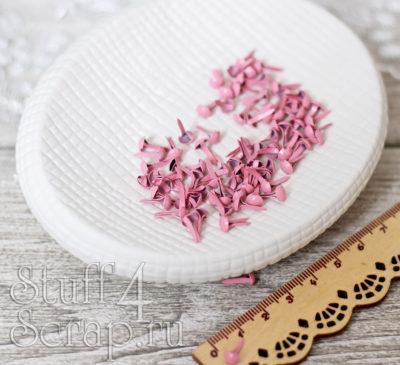 Набор брад, 50 шт, розовые