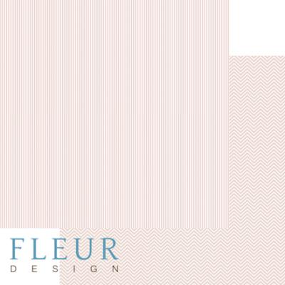 """Лист бумаги """"Лососевый"""", коллекция """"Чисто и просто Базовая"""" (Fleur design), 30х30 см"""