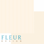 """Лист бумаги """"Песочный"""", коллекция """"Чисто и просто Базовая"""" (Fleur design), 30х30 см"""