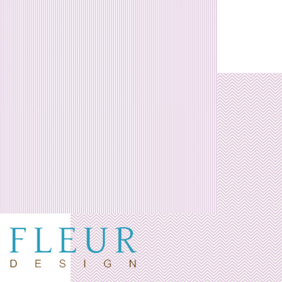 """Лист бумаги """"Сияющая орхидея"""", коллекция """"Чисто и просто Базовая"""" (Fleur design), 30х30 см"""