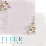 """Лист бумаги """"Вдохновение"""", коллекция """"Цветы прованса"""" (Fleur design), 30х30 см"""