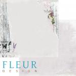 """Лист бумаги """"Настроение"""", коллекция """"Цветы прованса"""" (Fleur design), 30х30 см"""