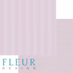"""Лист бумаги """"Черничный"""", коллекция """"Чисто и просто Базовая"""" (Fleur design), 30х30 см"""