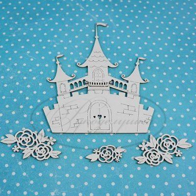 "Чипборд ""Набор - Замок принцессы 1А"" (Рукоделушка), 5 шт."