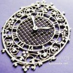 """Чипборд """"Цветочные часы"""" (Wycinanka), 1 шт."""