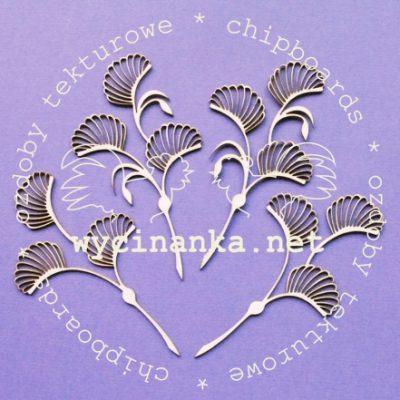 """Чипборд """"Веточка"""" (Wycinanka), 1 шт."""