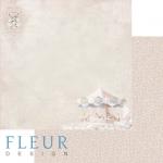 """Лист бумаги """"Карусель"""", коллекция """"Джентиль"""" (Fleur design), 30х30 см"""