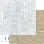 """Лист бумаги """"Ридотто"""", коллекция """"Джентиль"""" (Fleur design), 30х30 см"""