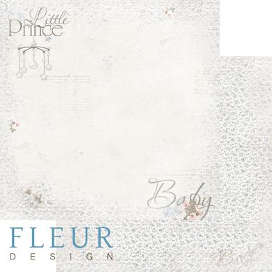 """Лист бумаги """"Малыш"""", коллекция """"Наш малыш Мальчик"""" (Fleur design), 30х30 см"""