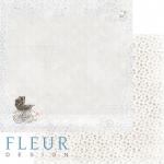 """Лист бумаги """"Прогулка"""", коллекция """"Наш малыш Мальчик"""" (Fleur design), 30х30 см"""