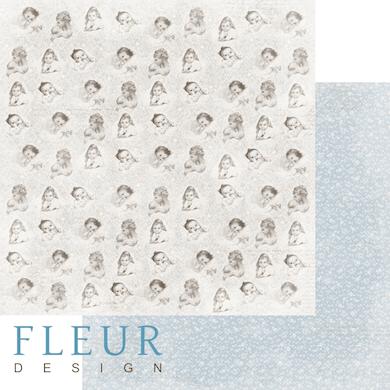 """Лист бумаги """"Моменты"""", коллекция """"Наш малыш Мальчик"""" (Fleur design), 30х30 см"""