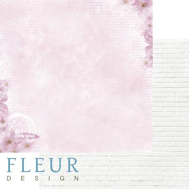 """Лист бумаги """"Цветение"""", коллекция """"Мой день"""" (Fleur design), 30х30 см"""