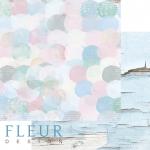"""Лист бумаги """"Пятнышки"""", коллекция """"Мой день"""" (Fleur design), 30х30 см"""