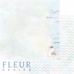 """Лист бумаги """"Записи"""", коллекция """"Мой день"""" (Fleur design), 30х30 см"""