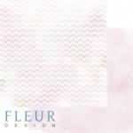 """Лист бумаги """"Блики"""", коллекция """"Мой день"""" (Fleur design), 30х30 см"""