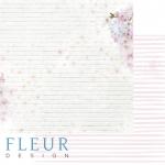 """Лист бумаги """"Время"""", коллекция """"Мой день"""" (Fleur design), 30х30 см"""