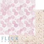 """Лист бумаги """"Воздушный"""", коллекция """"Летний сад"""" (Fleur design), 30х30 см"""