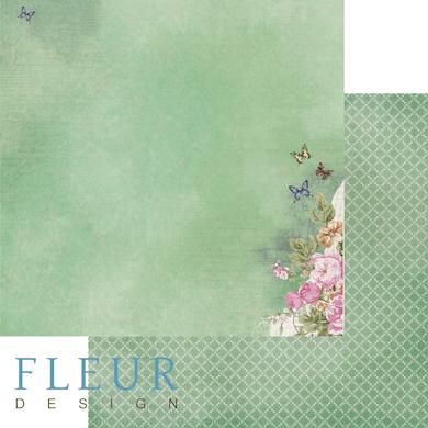 "Лист бумаги ""После дождя"", коллекция ""Летний сад"" (Fleur design), 30х30 см"