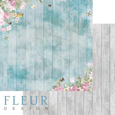 """Лист бумаги """"Любимое место"""", коллекция """"Летний сад"""" (Fleur design), 30х30 см"""