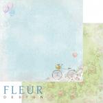 """Лист бумаги """"Хороший день"""", коллекция """"Полет души"""" (Fleur design), 30х30 см"""