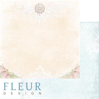 """Лист бумаги """"Ловец снов"""", коллекция """"Полет души"""" (Fleur design), 30х30 см"""