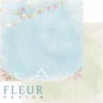 """Лист бумаги """"Секретное место"""", коллекция """"Полет души"""" (Fleur design), 30х30 см"""