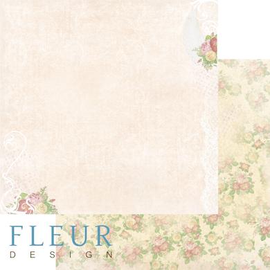 """Лист бумаги """"Ажурный"""", коллекция """"Полет души"""" (Fleur design), 30х30 см"""