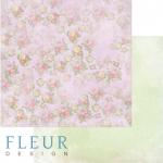 """Лист бумаги """"Цветочная карамель"""", коллекция """"Полет души"""" (Fleur design), 30х30 см"""