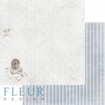 """Лист бумаги """"Нежность"""", коллекция """"Наш малыш Мальчик"""" (Fleur design), 30х30 см"""