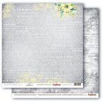 """Лист бумаги """"Нежность"""", коллекция """"Разрисованная Вуаль"""" (ScrapBerry's), 30х30 см"""