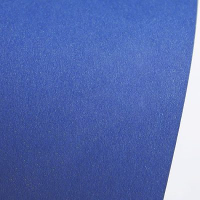 """Дизайнерская бумага """"Сияние"""" с перламутром, цвет ультрамарин, 30х30 см, 290 г/м2."""