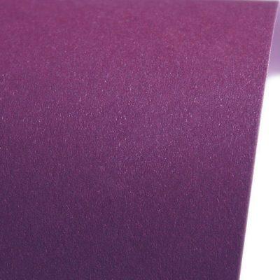 """Дизайнерская бумага """"Сияние"""" с перламутром, цвет сиреневый, 30х30 см, 290 г/м2."""