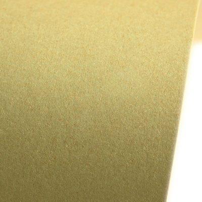 """Дизайнерская бумага """"Сияние"""" с перламутром, цвет золотистый, A4, 290 г/м2."""