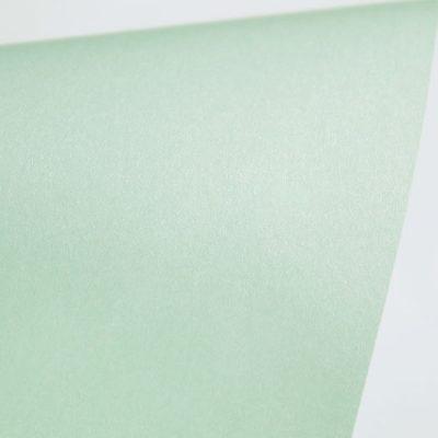 """Дизайнерская бумага """"Сияние"""" с перламутром, цвет светло-голубой, 30х30 см, 290 г/м2."""
