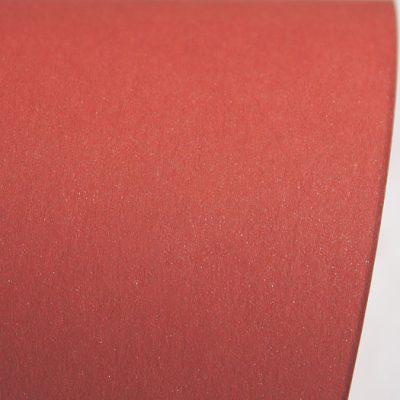 """Дизайнерская бумага """"Сияние"""" с перламутром, цвет красный, A4, 290 г/м2."""