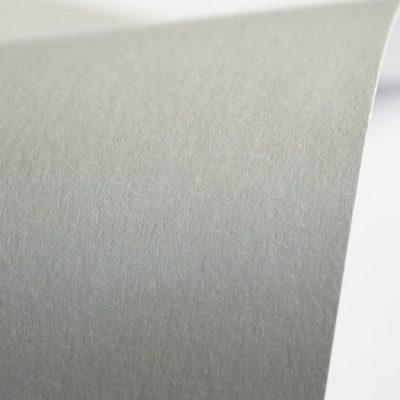 """Дизайнерская бумага """"Сияние"""" с перламутром, цвет серебристый, A4, 290 г/м2."""