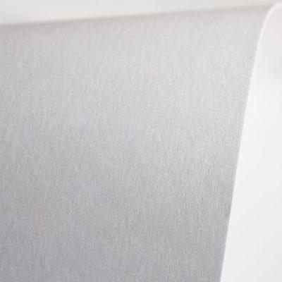 """Дизайнерская бумага """"Сияние"""" с перламутром, цвет платиновый, 290 г/м2."""