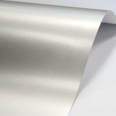 "Дизайнерская бумага ""Сплендорлюкс Металл"", серебро, 30х30 cm, 250 г/м2."