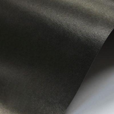 """Дизайнерская бумага """"Жемчужная"""" с перламутром, цвет угольный, 300 г/м2."""
