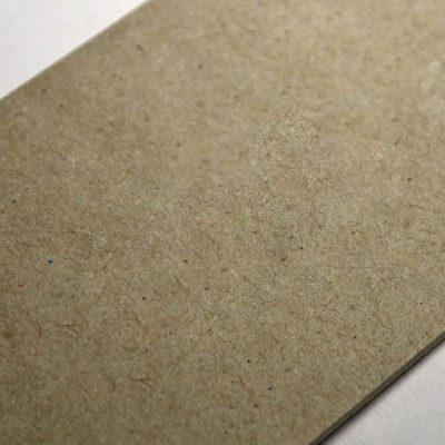 Картон обложечный 2 мм 15х15см, серый (Россия)