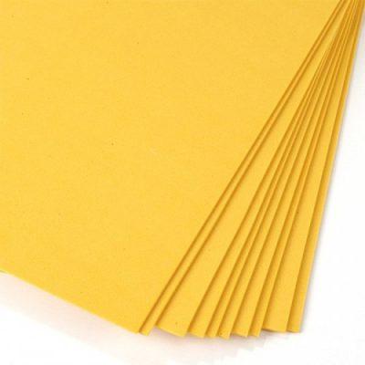 Фоамиран желтый 1 мм, 50*50 см.