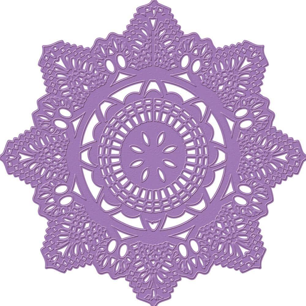 Нож для вырубки Prima Dies - Crochet Doily для скрапбукинга