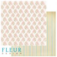 "Лист бумаги ""Цветник"", коллекция ""Старый Парк"", 30х30 (Fleur design), 30*30 см"