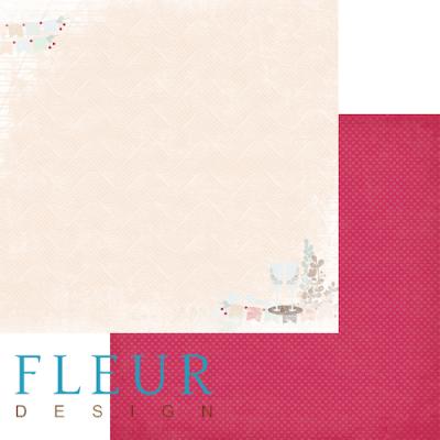 """Лист бумаги """"Торжество"""", коллекция """"Наша свадьба"""" (Fleur design), 30х30 см"""